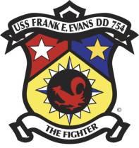 Logo, USS Frank E. Evans