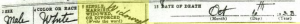 Xaver Schillinger Death Certificate Annotation 2