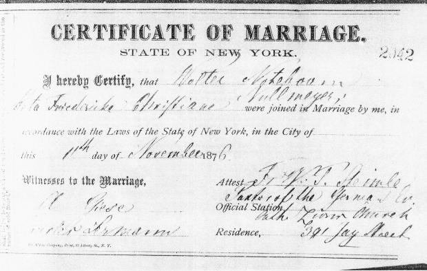 Marriage certificates of walter noteboom roots of kinship 47 walter noteboom marriage certificate to beta nullmeyer 1 yelopaper Images