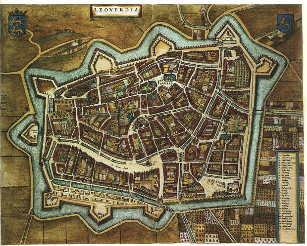 Blaeu_1652_-_Leeuwarden